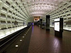 Stadium–Armory station - Image: Stadium Armory Metro