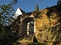 Stadtmauer bei Kirchenplatz 117 in Weitra.jpg