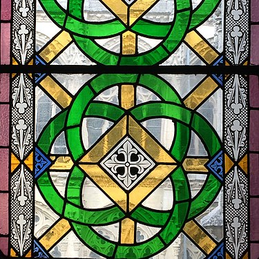 Stained glass window of the Cathedral of Burgos.jpg