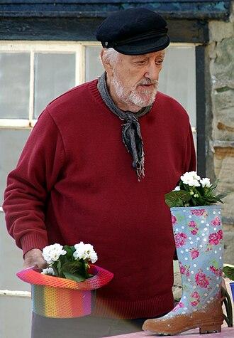 Bernard Cribbins - Cribbins filming Old Jack's Boat in 2012