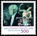 Stamp Germany 1999 MiNr2076 Richard Strauss.jpg