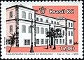 Stamp of Brazil - 1982 - Colnect 261408 - National Museum Rio de Janeiro.jpeg