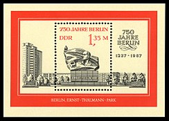 Stamps of Germany (DDR) 1987, MiNr Block 089.jpg
