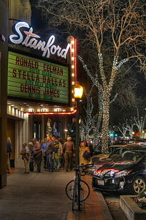 Stanford Theatre movie theater in Palo Alto, California, United States