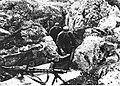 Stanowisko niemieckiego ciężkiego karabinu maszynowego na froncie włoskim (2-2280).jpg