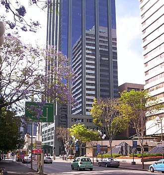 George Street, Brisbane - Image: State Law Building 2