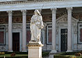 Statue and Colonnade of Saint Paul in Rome.jpg