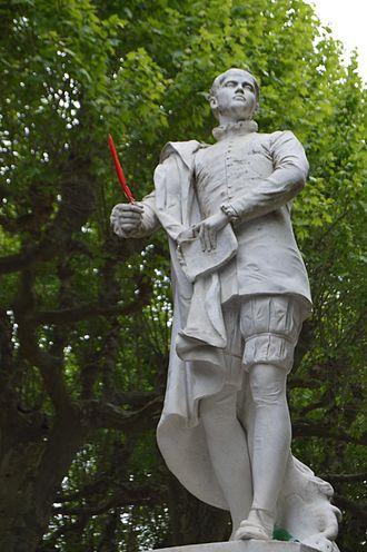 Étienne de La Boétie - Image: Statue d'Étienne de La Boétie
