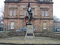 Statue in Selkirk, commemorating the disastrous Battle of Flodden - geograph.org.uk - 774693.jpg