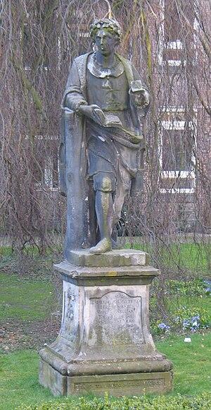 Laurens Janszoon Coster - Statue of Laurens Janszoon Coster designed by Romeyn de Hooghe.