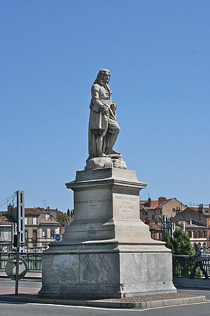 Pierre-Paul Riquet -  A statue of Pierre-Paul Riquet in Toulouse