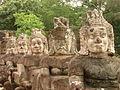 Statues - Angkor Thom - Cambodia.JPG