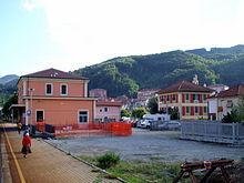 La stazione ferroviaria di Rossiglione