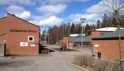 How to get to Stenbråten with public transit - About the place