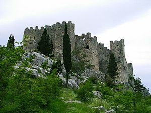 Thomas of Bosnia - Blagaj Fort, contested between Thomas and his brother-in-law