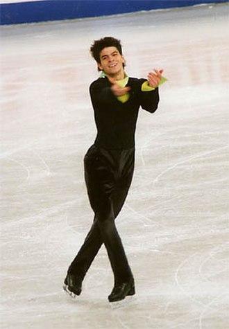 Stéphane Lambiel - Lambiel at the 2005 World Championships.