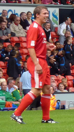 Stephen Warnock - Warnock during Jamie Carragher's testimonial match in 2010