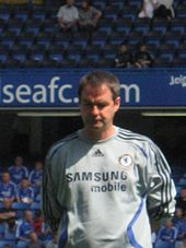 Clarke as assistant manager of Chelsea in 2007