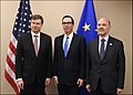 Steven Mnuchin, Valdis Dombrovskis and Pierre Moscovici.jpg