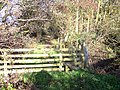 Stile and footbridge over Blay Brook - geograph.org.uk - 1041180.jpg