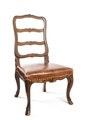 Stol, del av möbeluppsats, Schweiz - Hallwylska museet - 109833.tif