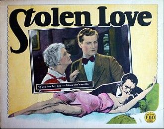 Stolen Love (film) - lobby card