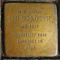 Stolperstein Ahaus Wallstraße 3 Leo Schlösser.jpg