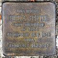 Stolperstein Im Hornisgrund 17 (Weste) Berta Spittel.jpg