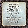 Stolperstein Nachodstr 22 (Wilmd) Gertrud Ohrenstein.jpg