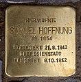 Stolperstein Westfälische Str 59 (Halsee) Samuel Hoffnung.jpg