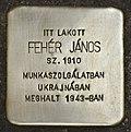 Stolperstein für Janos Feher (Szeged).jpg