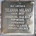 Stolperstein für Silvana Milano (Rom).jpg