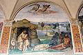 Storie di s. benedetto, 08 sodoma - Come Benedetto tentato d'impurità supera la tentazione 01.JPG