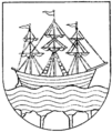 Strömstad vapen, Nordisk familjebok.png