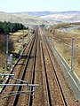 Straight Stretch of Railway Near Beattock Summit - geograph.org.uk - 375634.jpg