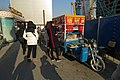 Street food vendor outside Sanyuanqiao Station, Exit C2 (20171213135925).jpg
