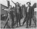 Strikers at the Burlington Railroad shop yards. Plattsmouth - NARA - 283731.tif