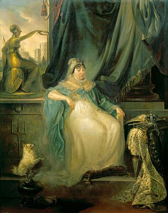 Peter Edward Stroehling - Queen Charlotte in 1807 by Stroehling