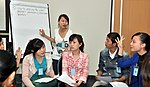 Students join the 'USAID and Higher Education in Vietnam' talk (8202377458).jpg