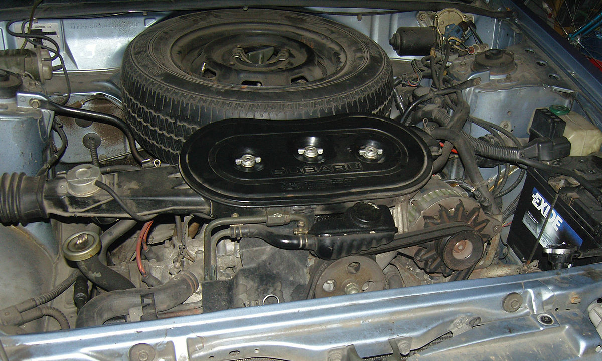 Carbureted Engine Diagram Subaru Ea Wikipedia