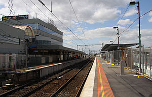 Suburban platforms at Broadmeadows station, Melbourne.jpg