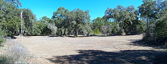 Prospect Bluff Historic Sites - Image: Sumatra FL Fort Gadsden site pano 01