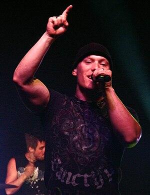 Kutless - Jon Micah Sumrall, lead vocalist