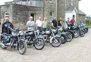 English: Sunbeam motorcycle Owners Rally