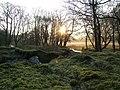 Sunrise in Glen Scaddle - geograph.org.uk - 418583.jpg