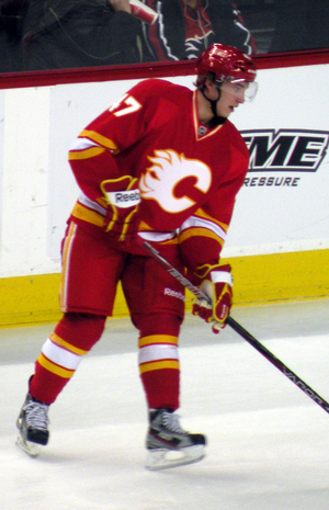 2011–12 Calgary Flames season - Baertschi made his NHL debut with the Flames in 2011–12 as an emergency recall from his junior team