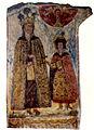 Svetitskhoveli fresco. Queen Mariam.jpg