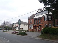 Sway - Forest Heath Hotel and the post office - geograph.org.uk - 1184198.jpg