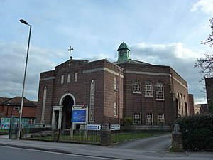 286, Southampton - Image: Swaythling Methodist Church, Burgess Road (geograph 4371980)
