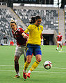 Sweden - Denmark, 8 April 2015 (16901375359).jpg